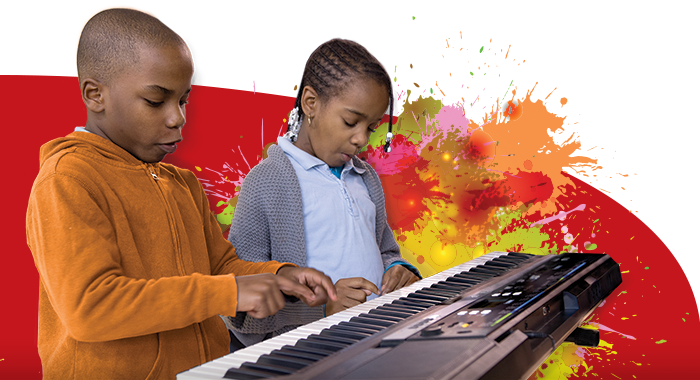 create, motivate and encourage kids at MusiCan