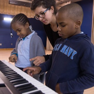 MusiCan students learning in school